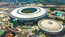 Aerial Shot of Maracana Stadium, Rio de Janeiro, Brazil