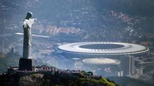 Christ the Redeemer Statue and Maracana Stadium, Rio de Janeiro, Brazil