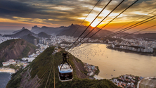 Pao de Acucar (Sugarloaf Mountain) Cable Car, Rio de Janeiro, Brazil
