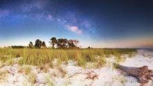 Dr. Julian G. Bruce St. George Island State Park at Night , Saint George Island, Florida, United States