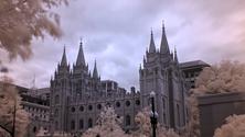 Latter Day Saints Salt Lake City Temple, Salt Lake City, Utah, United States