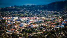 Santa Barbara from Franceschi Park, Santa Barbara, California, United States