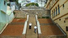 Escadaria in Bixiga, Sao Paulo, Brazil