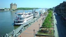 City Riverfront, Savannah, Georgia, United States