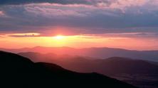 Park at Sunset, Shenandoah National Park, Virginia, United States