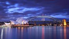 Sydney Harbour Bridge and Sydney Opera House, Sydney, Australia