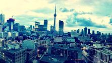 City Skyline, Toronto, Canada