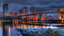 Burrard Street Bridge, Vancouver, Canada