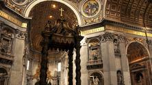 High Altar inside St. Peter's Basilica, Vatican City, Vatican City