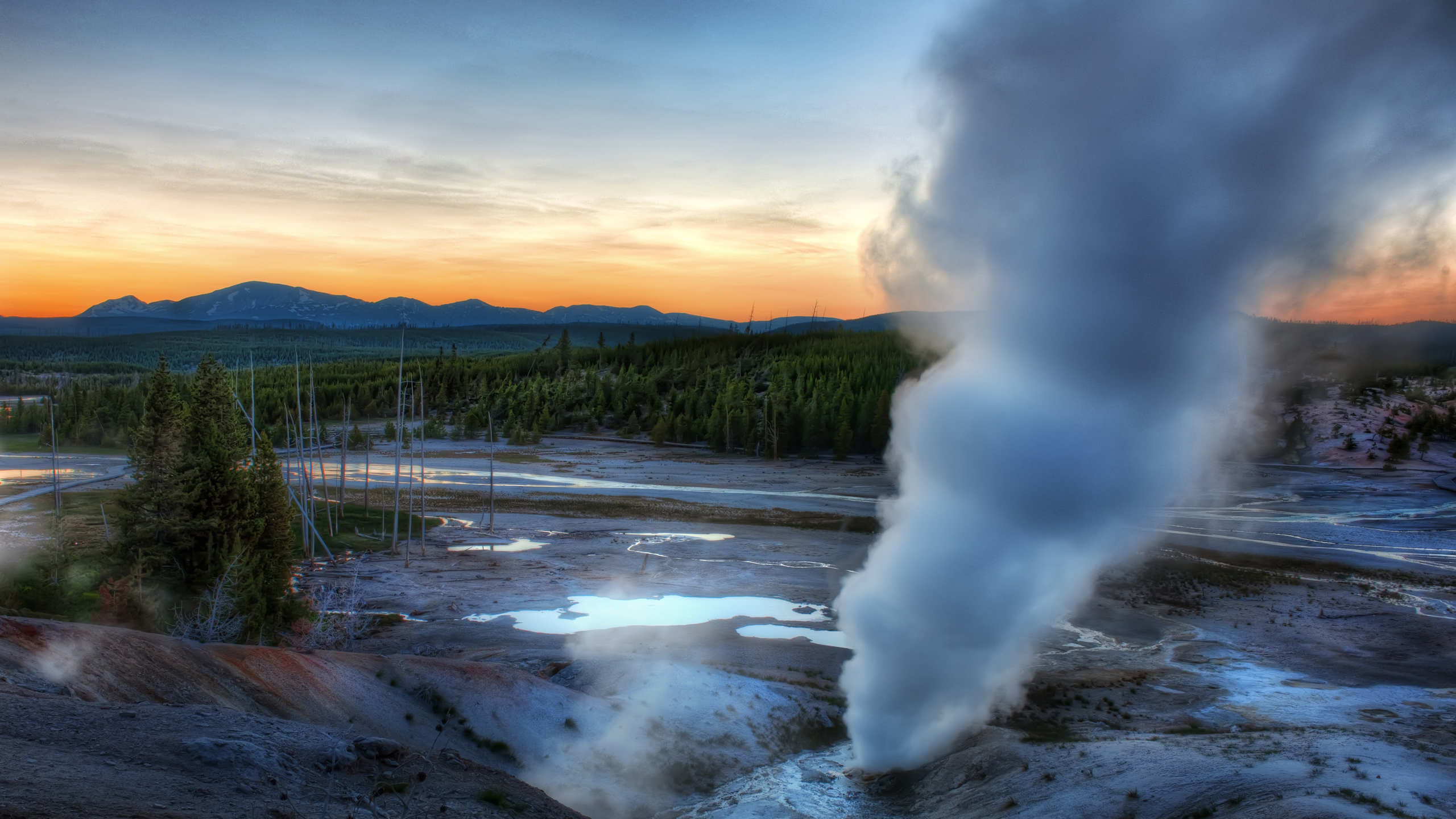 Norris Geyser Basin, Yellowstone National Park, Wyoming, United States